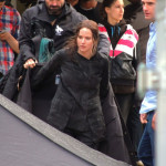 **Exclusive - Preisabsprache** Jennifer Lawrence on the set of The Hunger Games: Mockingjay – Part 1