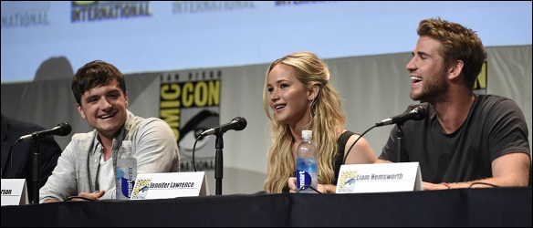 "AP 2015 COMIC-CON - ""THE HUNGER GAMES: MOCKINGJAY PART 2"" PANEL A ENT USA CA"