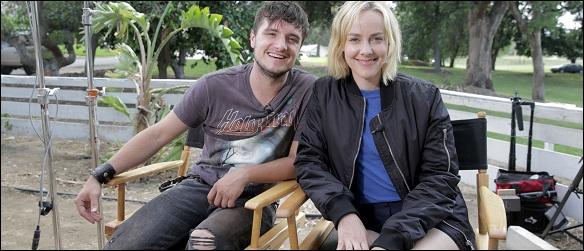Josh Hutcherson And Jena Malone In LA For Canon's Project Imagination: The Trailer