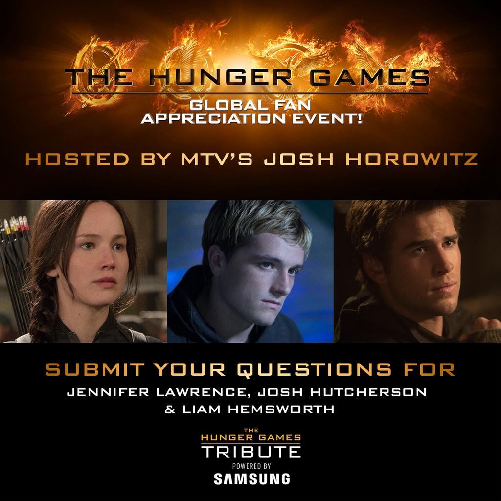 Hunger Games Global Fan Appreciation Event
