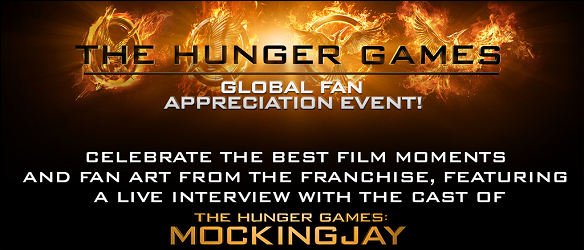 The Hunger Games Global Fan Appreciation Event