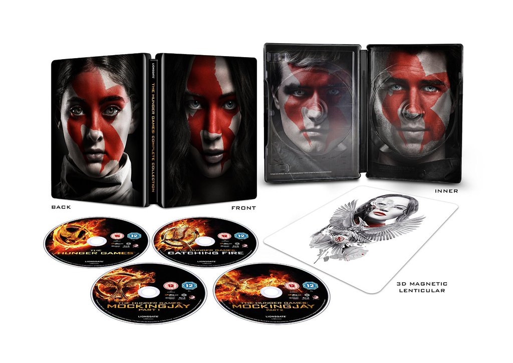 The Hunger Games - Complete Collection Steelbook