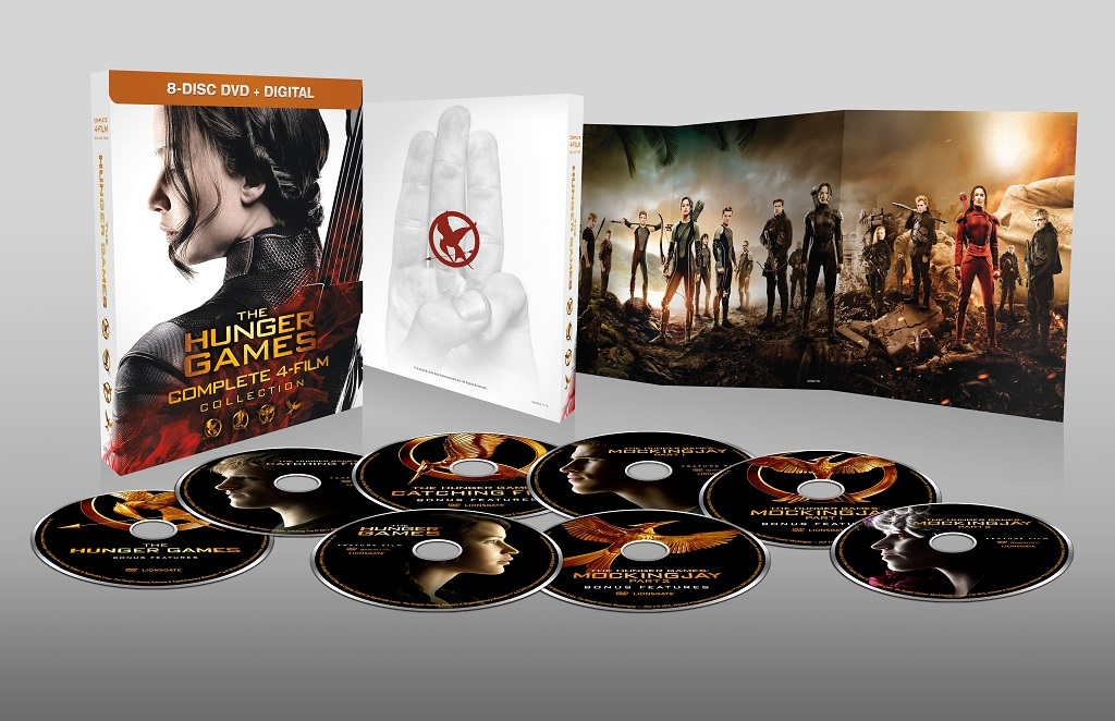 Hunger Games Complete Collection DVD USA