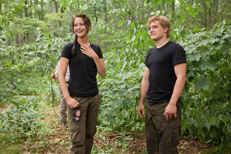 12 immagini inedite dal dietro le quinte di Hunger Games