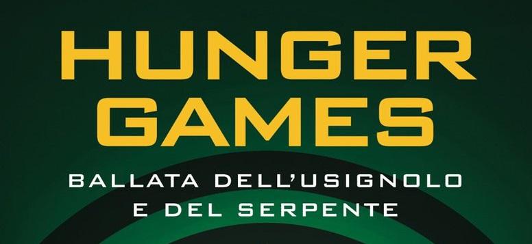 Svelati titolo e copertina in italiano del romanzo prequel di Hunger Games