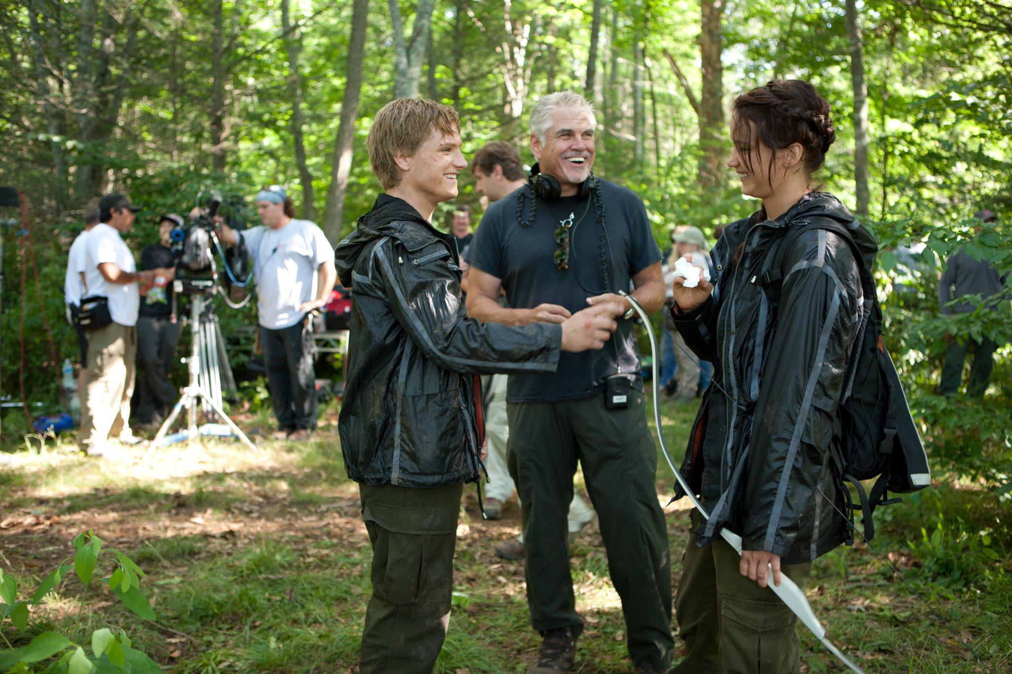 11 nuove foto dal set di Hunger Games