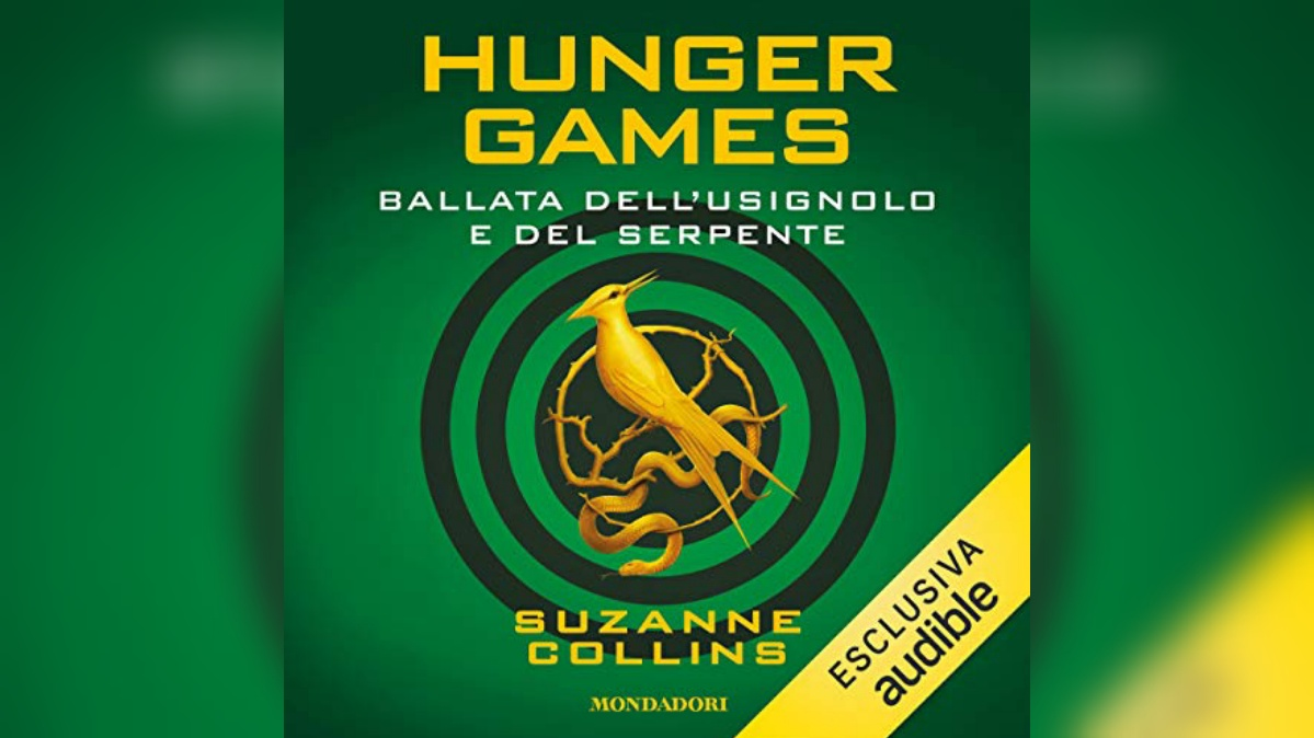 Ora disponibile l'audiolibro della Ballata dell'Usignolo e del Serpente